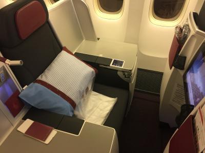 オーストリア航空ビジネスクラス搭乗記 バンコク→ウィーン