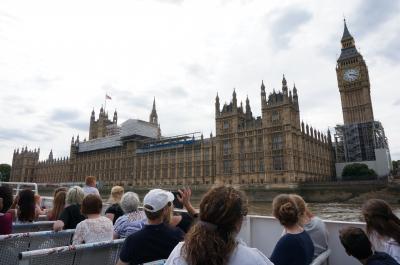 2017年8月 ロンドン+ユーロスターで日帰りパリ観光 vol.1ロンドンの観光名所巡り