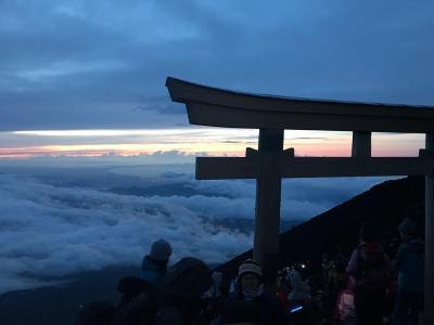 2017.07 富士登山