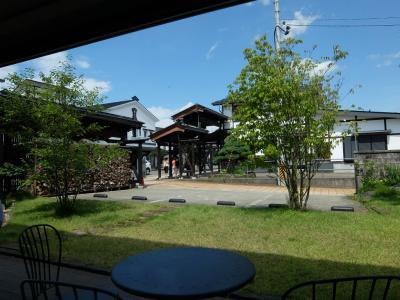 一泊二日のツアー参加 まづは 越後 三国街道 塩沢宿へ