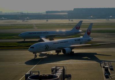 JAL327便 羽田→→福岡