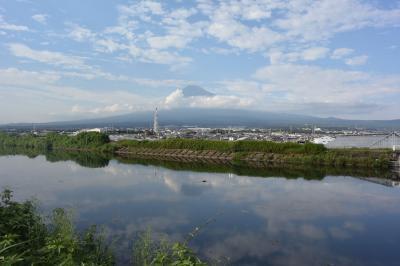 自転車でGO! 2017.08.26 富士山を見ながら潤井川沿いを走って来ました