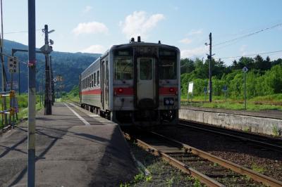 宗谷本線を普通列車で行く。