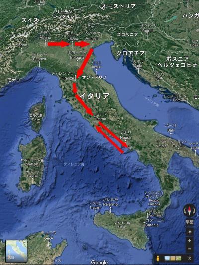 大満喫!イタリア紀行8日間。アツいよ暑いよ!その11 #グラッチェ、イタリア#