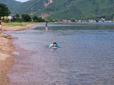2017/07 びわ湖マキノ泊 湖水浴・箱館山【1泊2日】※息子4歳11ヶ月