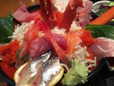 寺泊へ海鮮丼たべに