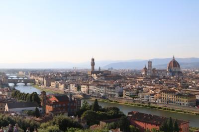 15年越しの夢を抱えて憧れのフィレンツェへ