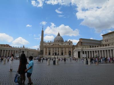 イタリア 5都市周遊一人旅  2.ローマ・バチカン
