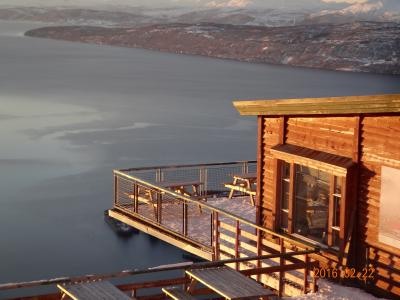 北欧最北端の駅にて、オーロラ・スキー・魚釣り