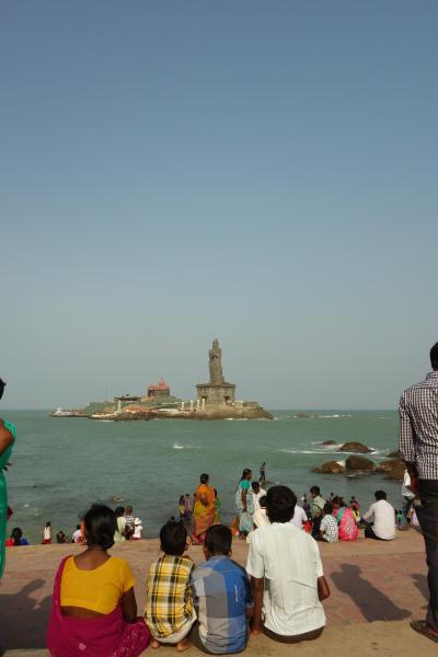 GW南インド周遊記 4日目 インドの江ノ島(?)聖地カーニャクマリへ。