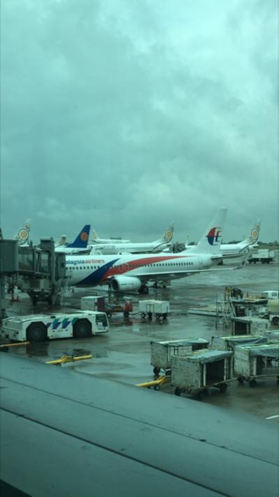 雨季のヤンゴン1人旅④ マレーシア航空ビジネスクラス利用