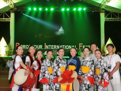 ボロブドゥールインターナショナルフェスティバル2017  その1