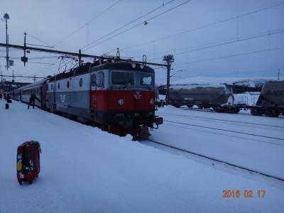 北欧。スエーデンとノルウエーのオーロラとラップランドのスキー場