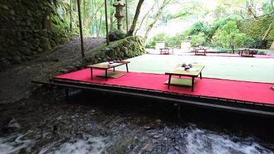 バスツアーin京都旅☆人生初!貴船の川床料理を堪能してきました♪