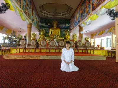 2016年5月 ビエンチャンの森林派のお寺でヴィッパサナー瞑想修行
