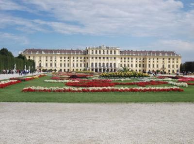 オーストリア・チェコ旅行2 シェーンブルン宮殿・王宮