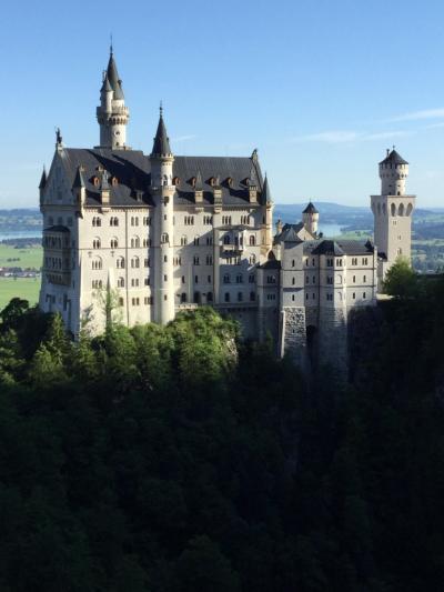 憧れのノイシュヴァンシュタイン城とホーエンシュバンガウ城
