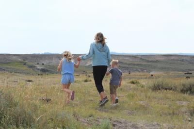 皆既日食とイエローストーン、グランドティートン国立公園 子連れの旅 2日目/5 キャニオン地区