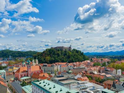絶景がいっぱい!! 北から南へスロベニア旅行8日間 1、2日目