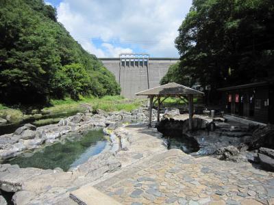 津山→蒜山高原→湯原温泉→神庭の滝 4(湯原温泉)
