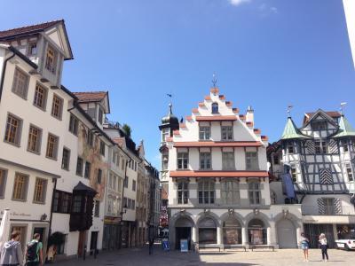 夏休みはヨーロッパ四ヶ国めぐり*三ヶ国めはスイス・ザンクトガレン*(St Gallen@Switzerland)