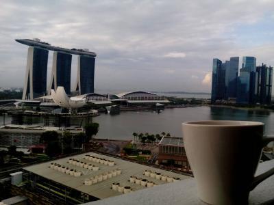 2017夏キキララ号でシンガポール2:マリーナマンダリンホテルマリーナベイサンズビュー