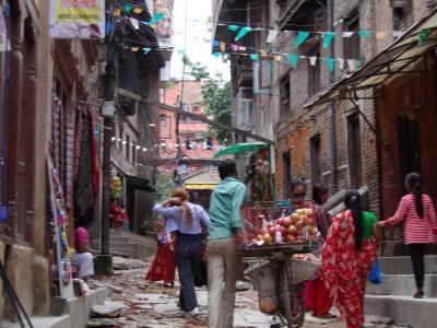 念願のネパール、カトマンズ!ひとり旅。クマリさん&ネパール料理作り体験