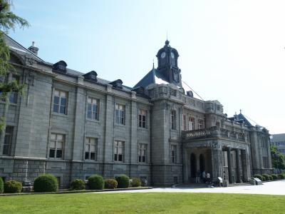 1泊2日山形旅行 山寺参拝予定が雨が強くなり中止、歴史的建造物などを巡りました。