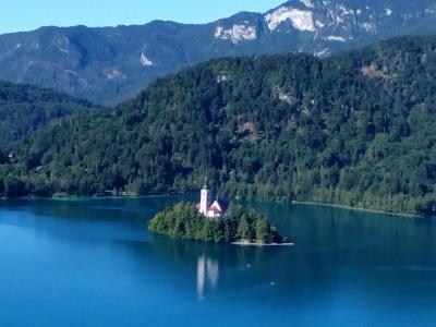 世界遺産周遊、ヨーロッパ編 スロベニア リブリャーナからブレッド湖へ