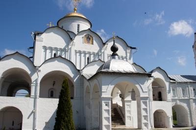 2017 May 黄金の環を巡る旅 スズダリ、ポクロフスキー修道院