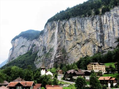 2017年7月 スイス 6日目 その2 シャモニーからウェンゲンへの移動