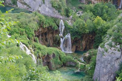 クロアチアのプリトヴィツェ湖群国立公園 3 旧ユーゴスラヴィア5か国周遊の旅 16