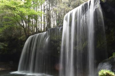 【熊本県】鍋ヶ滝、、これは神秘的だ、、、できればこのままひっそりとそのままにしておいてほしい