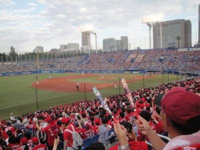 プロ野球観戦 ヤクルト―広島 神宮球場 (アクセス編)