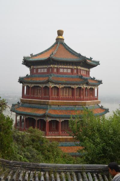 中国の世界遺産No.3:首都北京の北部、清朝の夏の離宮「頤和園」を訪れる