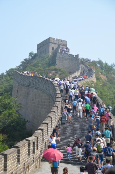 中国の世界遺産No.4:全長約6,260kmの万里の長城のなかで最も整備された八達嶺を訪れる