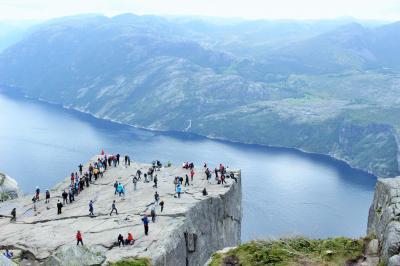 二度目の北欧はノルウェー旅行!④ ~断崖絶壁!プレーケストーレンまでトレッキング~