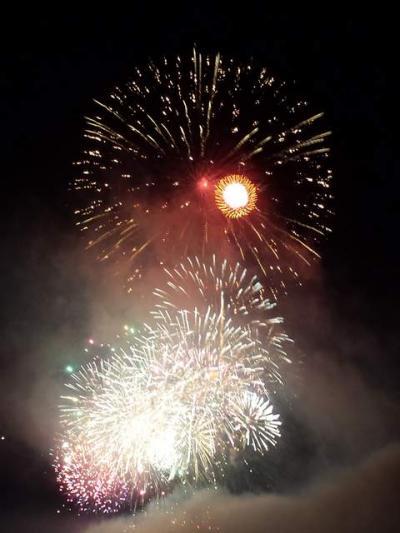ノープランで大曲の花火へ!
