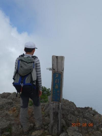 2017 北海道 父子2人旅~ 芦別岳、樽前山、支笏湖 ~ 登山編 ~ 北海道後半は、日本200名山を巡りました