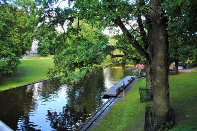 ラトヴィアへ! その6 ラトヴィアの首都リガのピルセータス運河で遊覧船に乗りました。