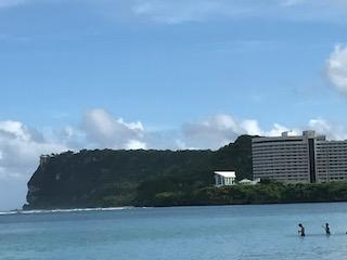 グランドプラザホテルでグアム