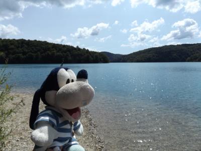 グーちゃん、クロアチアへ行く!(プリトヴィッツェ/地元カモ君を追え!編)