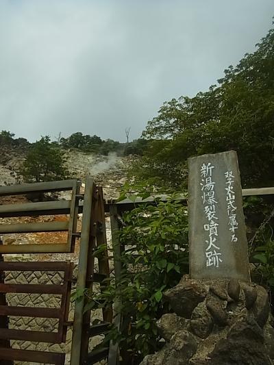 奥塩原の硫黄泉とハンタマゆりパーク