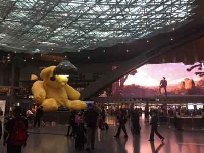【中欧一人旅2】カタール航空で羽田→ドーハ→ミュンヘン その2