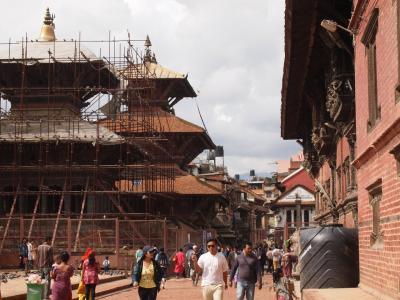2017年8月 ネパール一人旅 旅行記② 震災2年後のパタンのダルバール広場