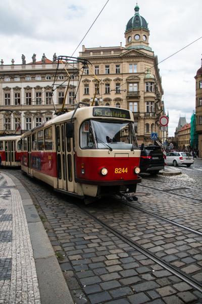 2017.8  今年もマイルで チェコ・オーストリア・ポーランド(&IST・SEL) 中世の美しい城と街並み 5)プラハ 2日目後半 フラッチャニ地区と新市街 プラハ城と花火