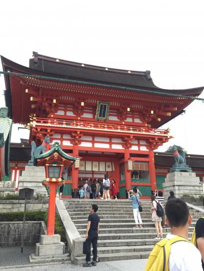 夏の京都旅行 -1- 伏見稲荷