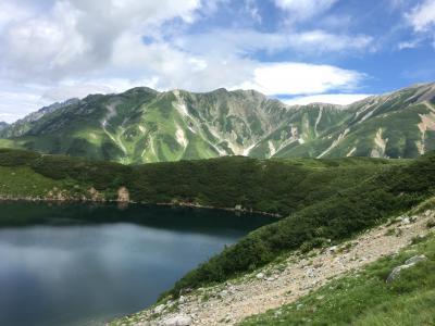 立山黒部アルペンルート  (夏休み 2日目)