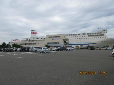 新日本海フエリーの旅:新潟~小樽