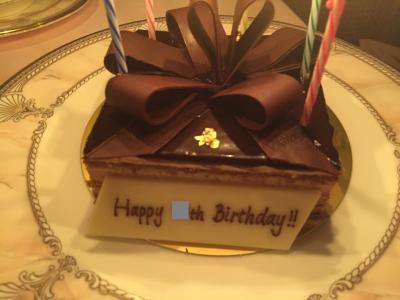 シュール ラ メール で祝う誕生日